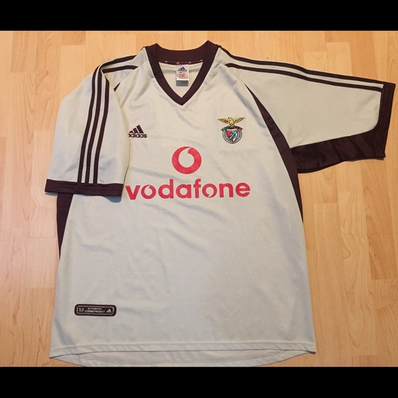 best service bcd49 d408d Adidas S.L. Benfica Soccer Jersey Size Xtra-Large